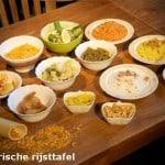 rijsttafelen javaans eetcafe